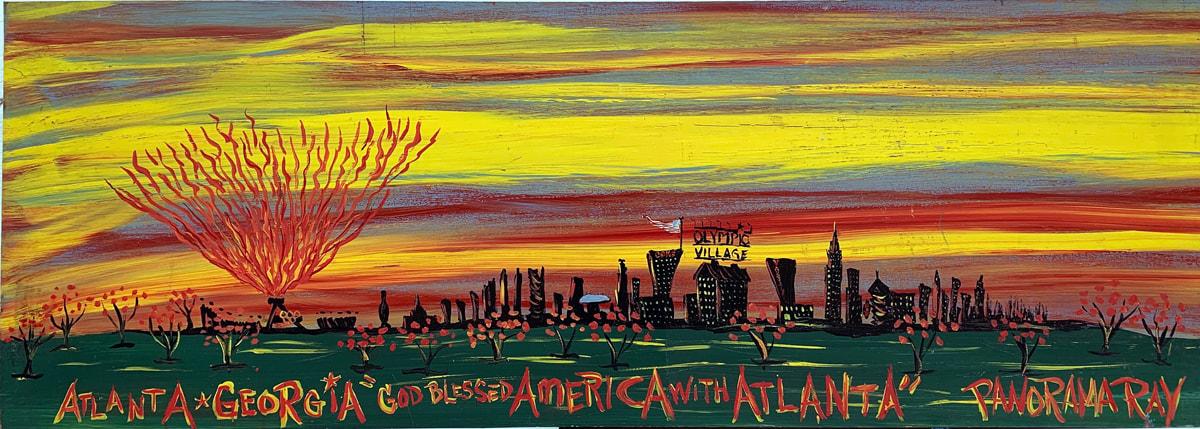 01-panorama-ray-herbert-god-blessed-america-with-atlanta-20x56-masonite-img-4801-w_orig 25 Years Atlanta  Rovers FC Celebration